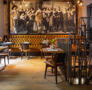 Gezellig restaurant in Amsterdam