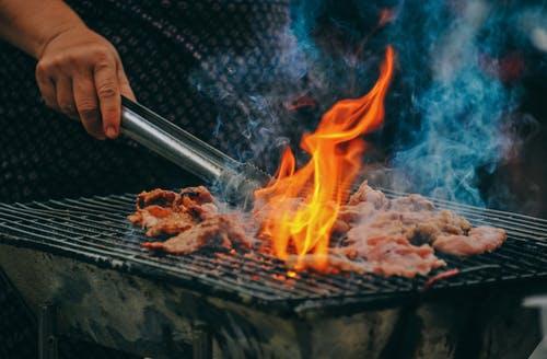 zalm op de BBQ